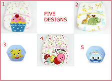 *  Set of 2 Waterproof Baby Diaper Nappies Reusable Washable Cotton Pants Briefs