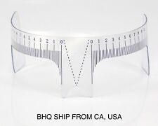 Eyebrow Ruler for Microblading Permanent Makeup Measure Head Tool Reusable