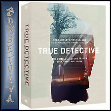 TRUE DETECTIVE - COMPLETE SEASONS 1 & 2 ***BRAND NEW DVD BOXSET ***