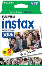 600 Prints Fuji Instant Wide Color Film for Instax 200 / 210 / 300 Camera 10/19