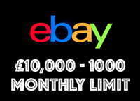 EBAY BUSINESS EBAY SHOP FOR SALE - HIGH LIMIT