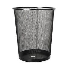 New Wastebasket Trash Can Garbage Mesh Bin Waste Basket Office Desk Bedroom .