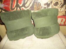FRONTGATE TURKISH GREEN LONG STAPLE (2) THICK BATH TOWELS SET 28X54 100% COTTON