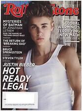Rolling Stone August 2, 2012 Justin Bieber, Dark Night, Breaking Bad, Ke$ha