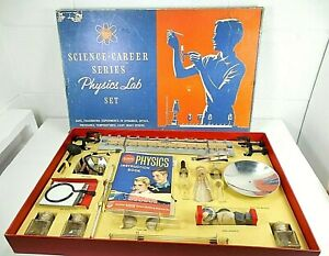 VINTAGE 1960 A C GILBERT PHYSICS SET NO. 15181 Appears Complete Nice!