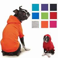 ZACK & ZOEY HOODIE, 9 Colors, 6 Sizes! Basic Dog Puppy Sweatshirt Sweater Shirt