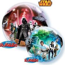 "New Star Wars 22"" Qualatex BUBBLE Balloons Birthday Party Supplies Decorations~"