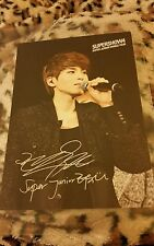 Super junior ryeowook super show OFFICIAL Postcard Kpop k-pop