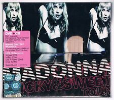 MADONNA STICKY & SWEET TOUR CD + DVD NUOVO SIGILLATO!!!
