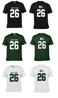Le'VEON BELL #26 N.Y JETS TEAM CUSTOM LOGO PLAYER NAME & NUMBER JERSEY T-SHIRT