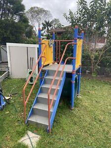 Megatoy playground equipment With Slide.