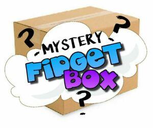 Surprise Fidget Toy Box (6 Items) Including Pop its UK STOCK