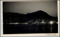 HONGKONG Hong Kong by Night Asien China Real Photo Postcard Echtfoto-AK ~1930
