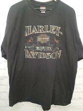Harley Davidson T Shirt 2XL XX-Large Santa Maria California Black