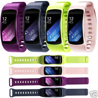 Luxuey Sports Silicone Replacement Band Straps For Samsung Gear Fit 2 SM-R360
