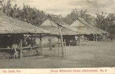 PC GROEP ALFOERSCHE HUIZEN, HALMAHEIRA, INDONESIA (b5118)