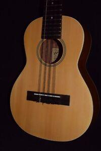 Hula Ukes Solid Spruce Top Mahogany Back Tenor 8 String Ukulele