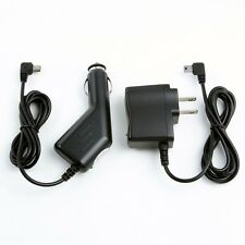 Car Auto Charger + AC/DC Wall Power Adapter Cord for TomTom GPS One 125*S 125*SE