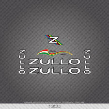 01350 Zullo Bicycle Stickers - Decals - Transfer