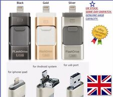 USB i-Flash Drive 64 GB OTG del disco di archiviazione Memory Stick per iPhone/Android Argento
