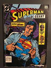 SUPERMAN GEANT (Sagedition) - T30 : octobre 1985