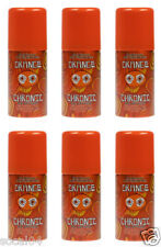 Orange Chronic Air Freshener 1.5 oz Home Office Boat Car Hotel ( Lot of 6 Cans)