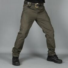 Mens Outdoor Cargo Overalls Trouser Military Tactical Combat Multi-pocket Pants