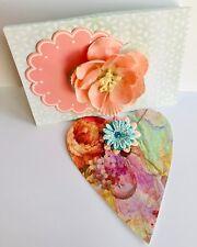 Valentine's Day Card, Handmade Cards. Birthday Cards For Mom, Valentine Card