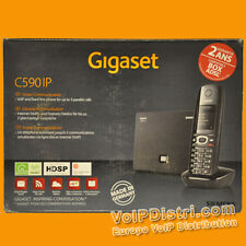 Siemens Gigaset C590 IP - VoIP SIP DECT HDSP **Unlocked Version / Multilingual**