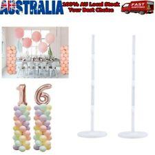 2/4X Balloon Arch Column Base Stand Display Kit Wedding Birthday Party Decor