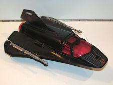 1986 GI JOE COBRA NIGHT RAVEN S³P SPARE DRONE RECON JET 100% COMPLETE - HASBRO