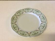 Antique Moritz Zdekauer Austrian Porcelain Art Nouveau Plate w Floral Decoration
