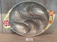 "Vintage / Retro Shorter and sons hand painted serving dish 14.5"" By 10.2"""