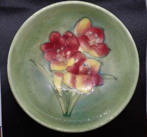 Moorcroft Vintage Freesia Footed Bowl
