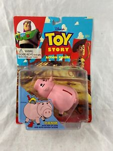 Vintage - Toy Story - Hamm - Piggy Bank - Action Figure - 1995 - NEW