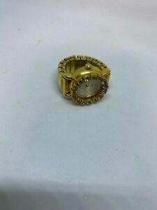 Gold Watch Ring