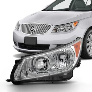 10-13 Buick LaCrosse {Halogen Model} Replacement Headlight Lamp Left Driver Side