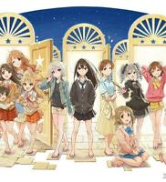 The Idolmaster Cinderella Girls Complete Anime Fan Book Special Box Japan Anime