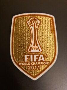 2011 Barcelona World Champions League Winner Badge Patch Soccer Jersey