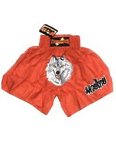 Thunderfightgear Red Wolf Muay Thai Shorts