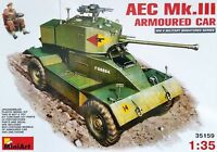 Miniart AEC mk.iii Chamber Car Kit 1:3 5 Set Item 35159 Armoured Vehicle
