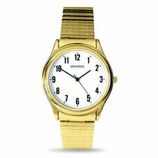 Sekonda Gold Watch With Stretch Band SK3752