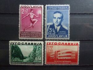 Yugoslavia, Jugoslawien, Mi.358-361, 1938, **MNH