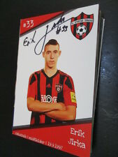 67701 Erik Jirka FC Spartak Trnava originale con firma autografo cartolina