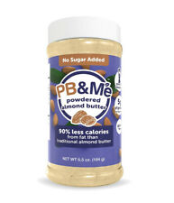 PB&Me Powdered Almond Butter Sugar free, Keto Snack, Gluten Free, Plant Protein