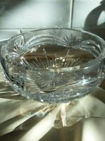 """Marquis by Waterford Markham Large 7 3/4 Diam 4""""Tall Crystal Serving Bowl"""