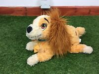 Lady And The Tramp X Large Plush Soft Toy Disney Store Stamped Official Disney
