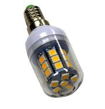 E14 LED 27-SMD-5050 Camping 12V / 24 V . 3,8W = 40W, Rundstrahler, 500lm, Warm