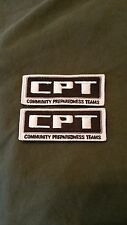 Oath Keepers Community Preparedness Team (CPT) Patches