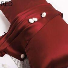 100% Rein Maulbeerseide Kissenbezug Handtuch Natürlich Biologisch Satin 25 Momme